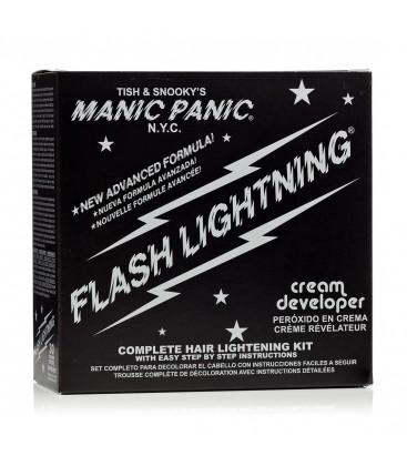 Flash Lightning Bleach Kit 30 Volume Cream Developer