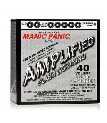 Flash Lightning Bleach Kit 40 Volume Cream Developer
