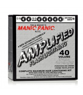 Flash Lightning Bleach Kit 40 Volume Cream Developer