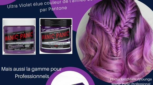 Ultra violet : LA couleur de l'année 2018 !